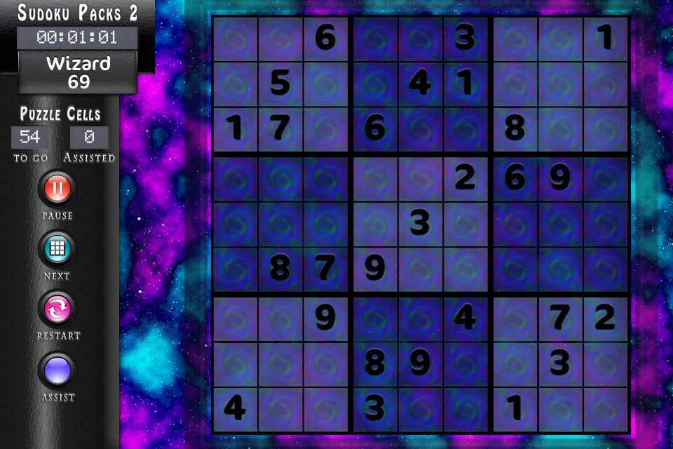 Sudoku Clouds Theme