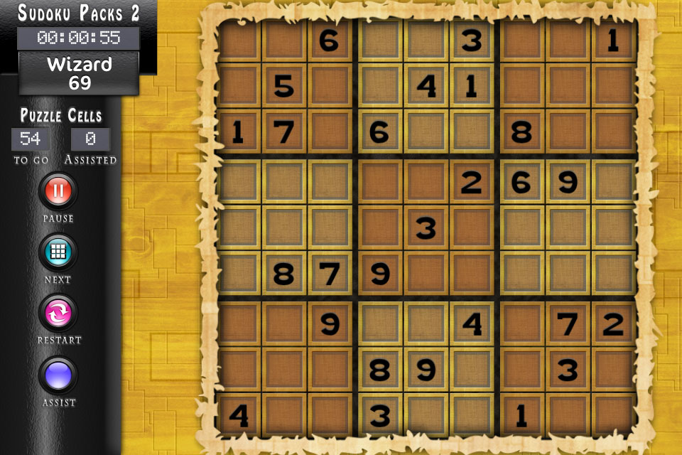 Sudoku 2 Blocks Theme