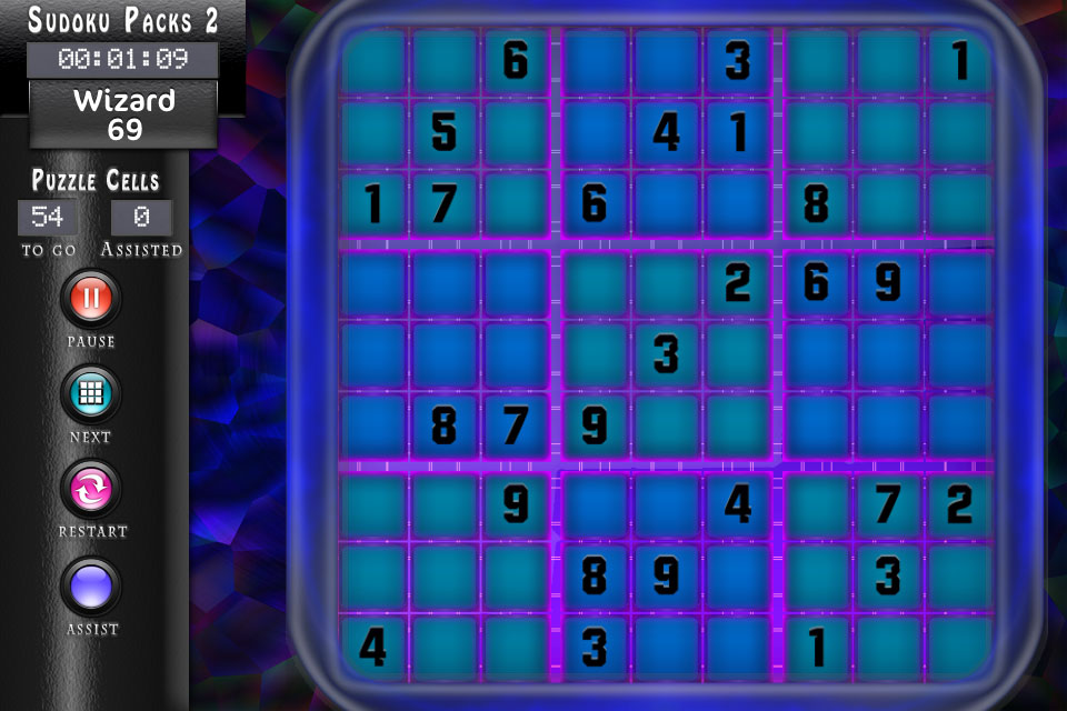 Sudoku 2 Magic Theme